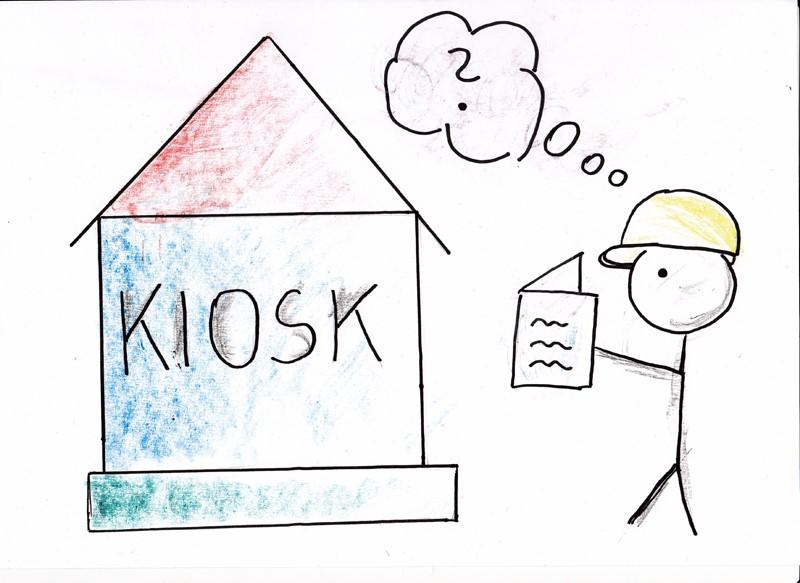 bild c conedupaar das kiosk modell lehre nach bau plan - Lernen Am Modell Beispiele